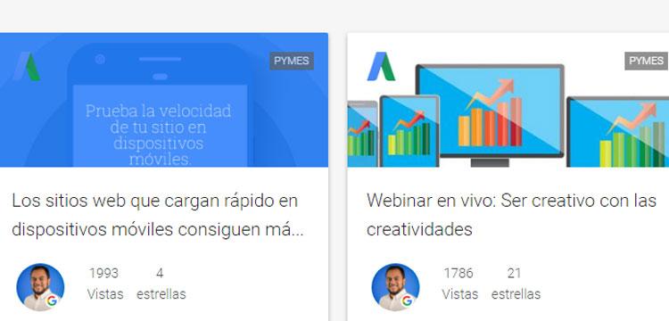 Cursos de la Comunidad de Google